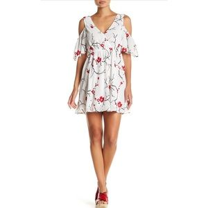 Flying Tomato Embroidered Boho Floral Dress S